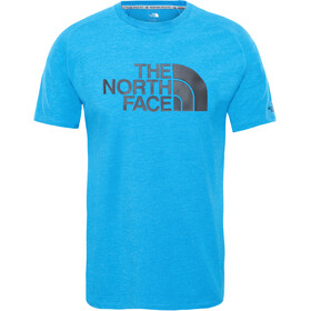 The North Face Wicker Graphic Crew Shirt Men bomber blue heather
